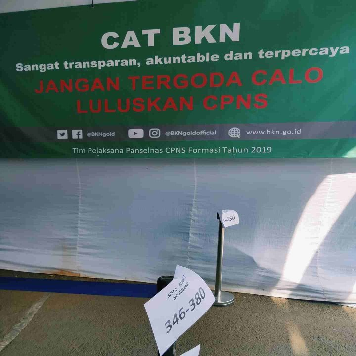 CAT BKN transparan