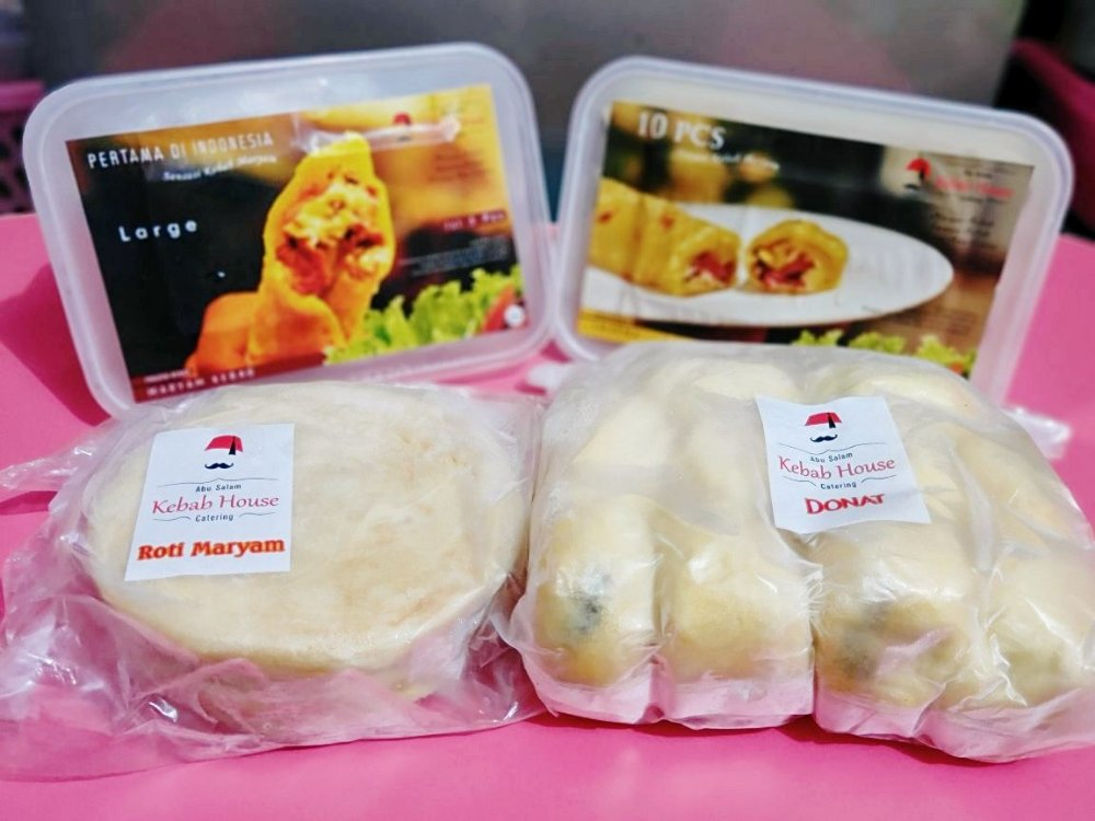 Frozen food Abusalam kebab