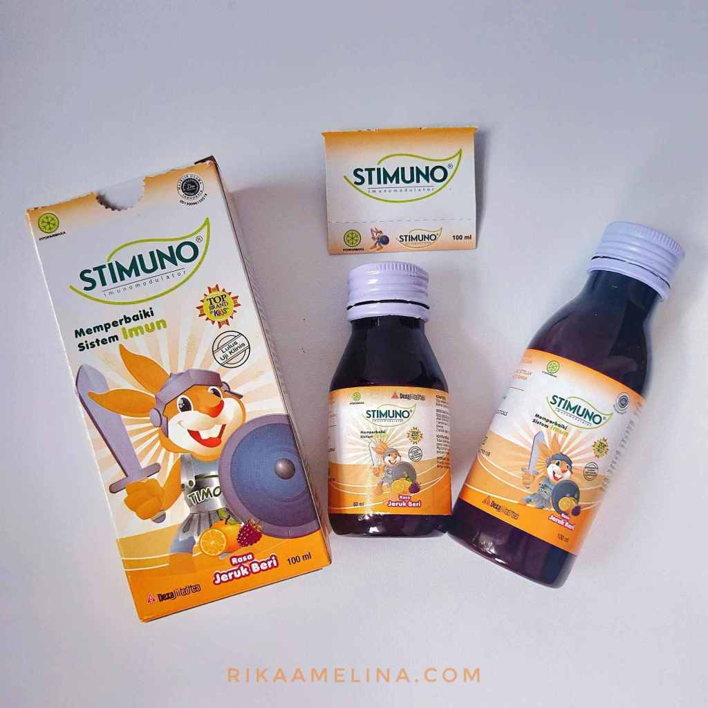 STIMUNO sirup vitamin anak