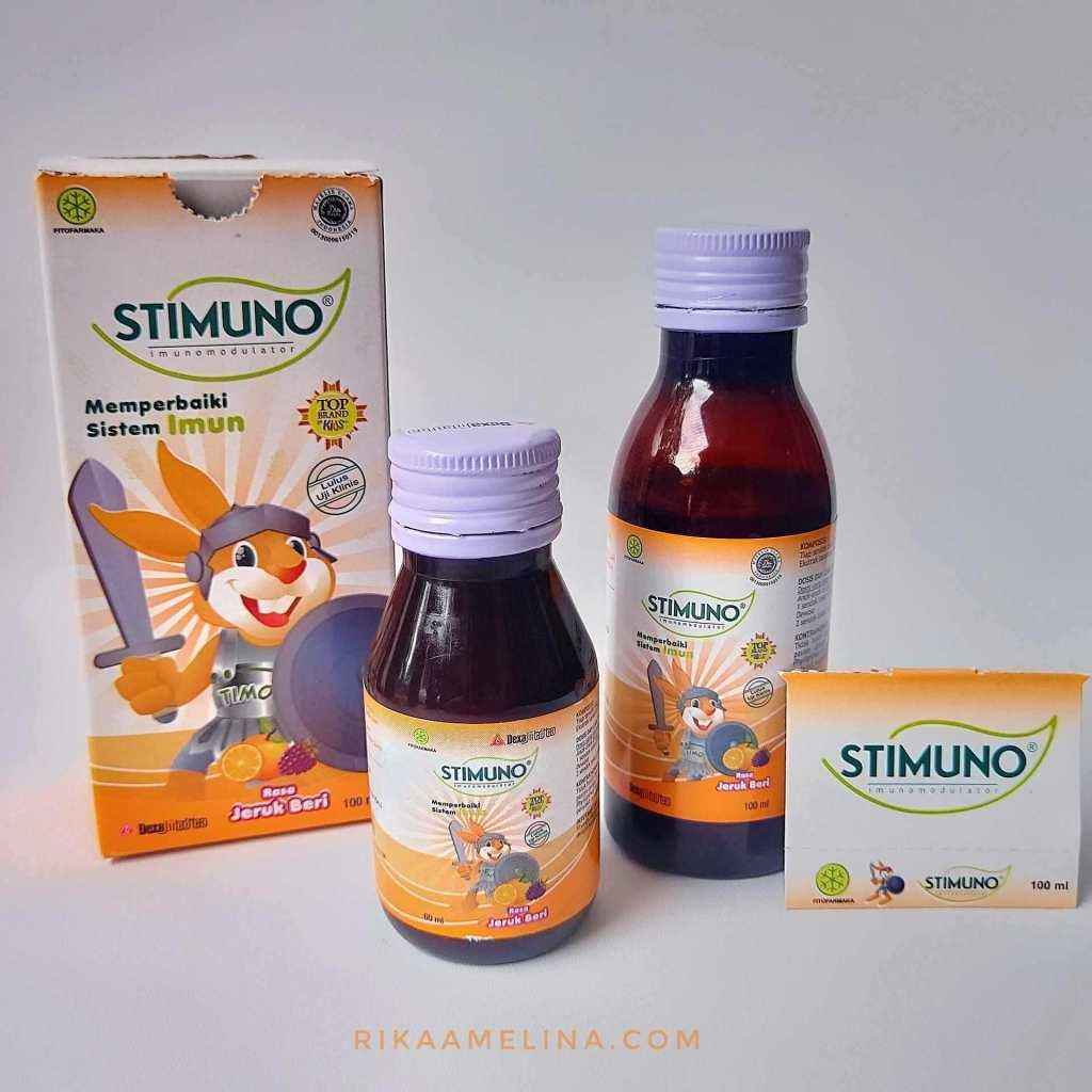 stimuno sirup rasa jeruk beri