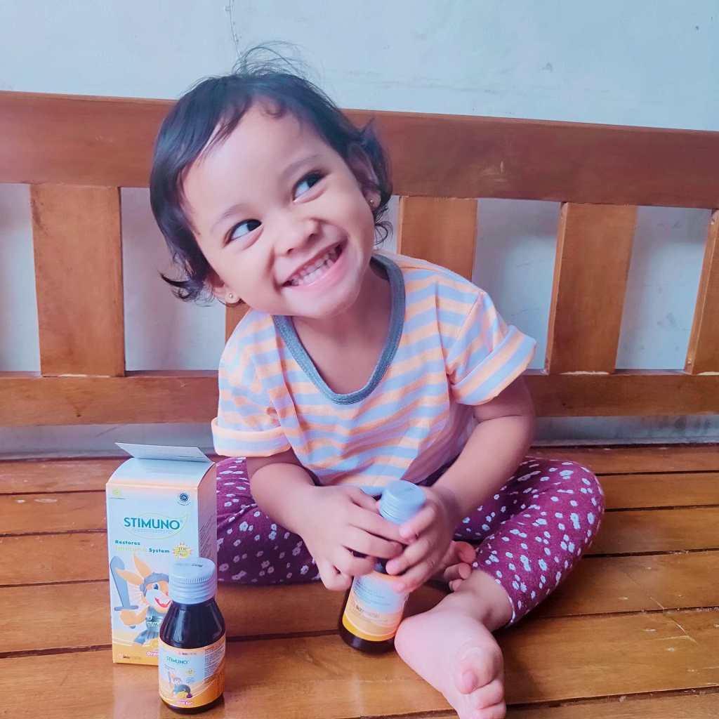 jaga imunitas tubuh anak dengan stimuno