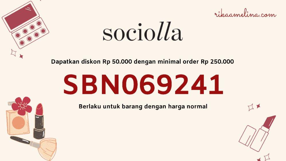 Kode voucher sociolla
