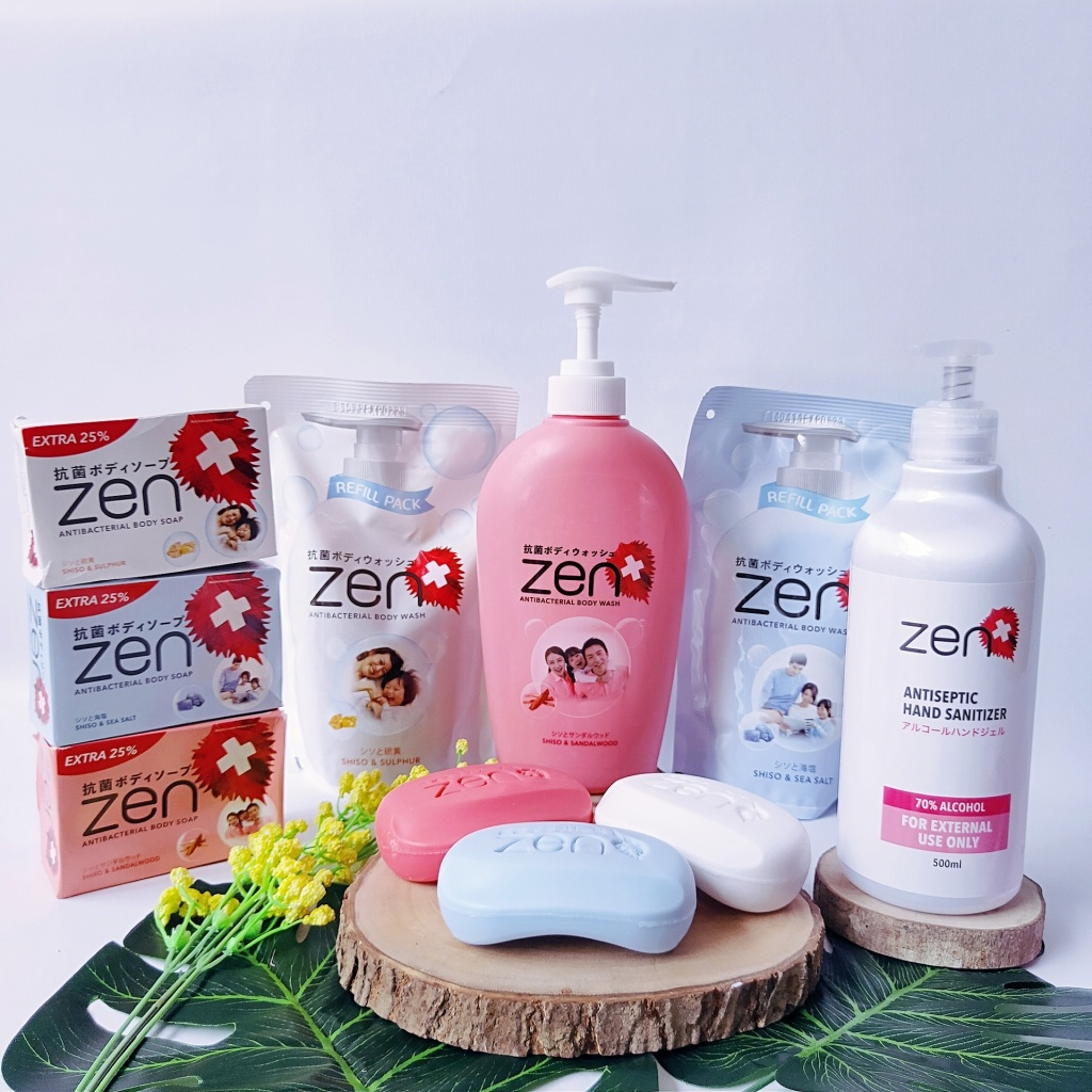 Review Zen Body Wash