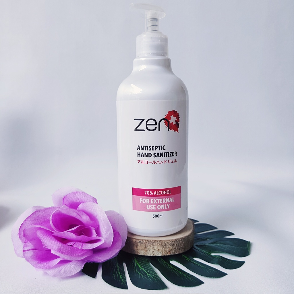 Review Zen Hand Sanitizer
